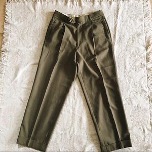 Vintage Giorgio Armani Luxury Wool Suit Pants